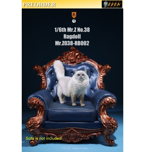 PREORDER: Mr.Z 1/6 Real Animal S38 Ragdoll (RB002)