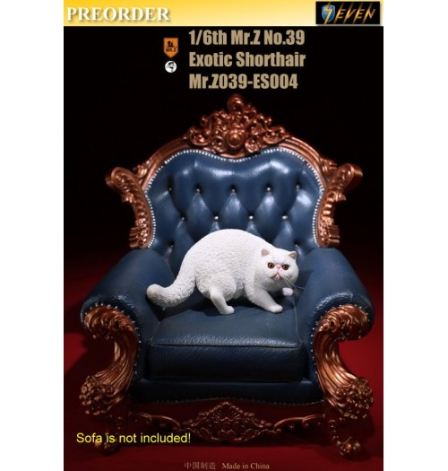 PREORDER: Mr.Z 1/6 Real Animal S39 Exotic Shorthair (ES004)