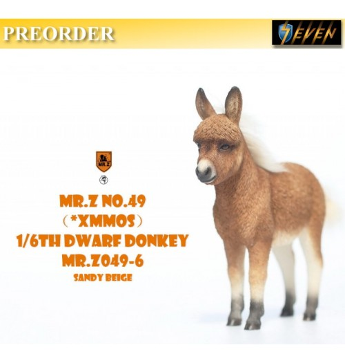 PREORDER: Mr.Z: 1/6 MRZ049-6 Animal Model No.49 Dwarf Donkey: Set