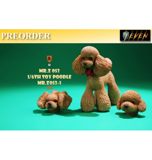 PREORDER: Mr.Z 1/6 MR.Z053-1 Toy Poodle(Red): Boxset