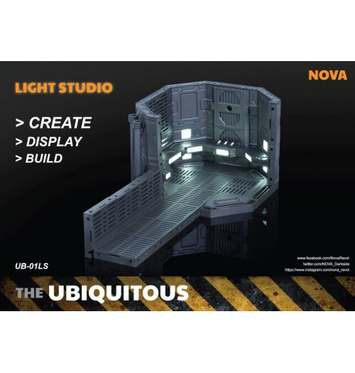 Nova The Ubiquitous UB-01LS Diorama (with LED)