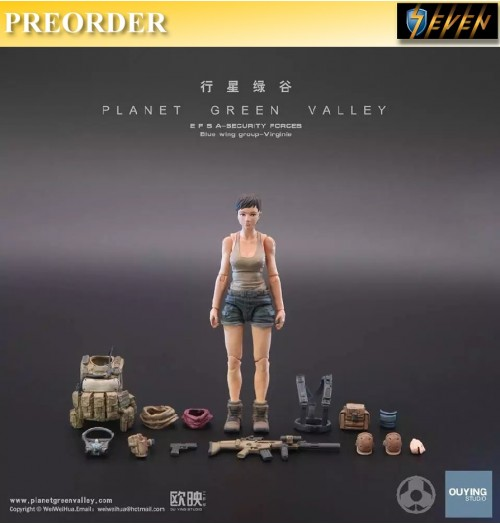 PREORDER: Ouying Studio: Planet Green Valley- Virgine EFSA Security Forces