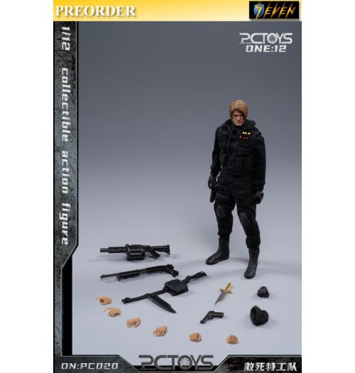PREORDER: PCToys 1/12 PC020 Collectible action figure: Boxset