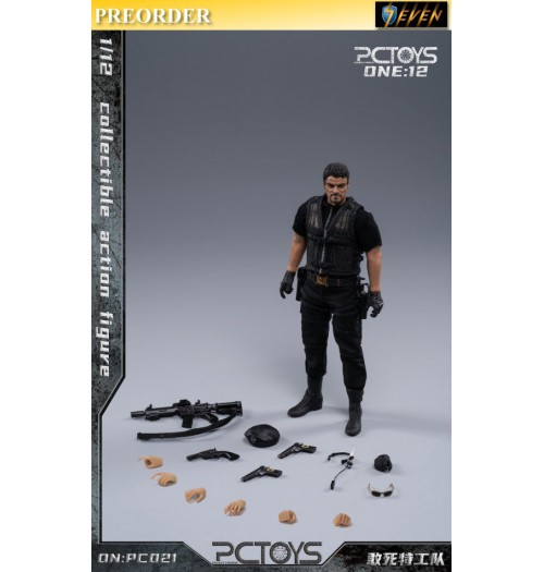 PREORDER: PCToys 1/12 PC021 Collectible action figure: Boxset
