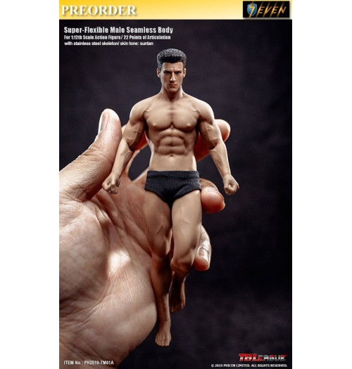 PREORDER: TBLeague 1/12 TM01A Super Flexible Male Seamless Body: Boxset