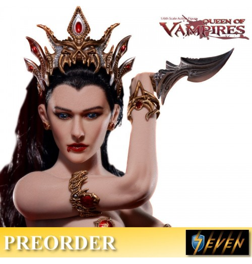 PREORDER: TBLeague 1/6 Arkhalla Queen of Vampires Boxset
