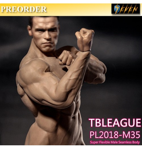 PREORDER: TBLeague 1/6 PL2018-M35 Super Flexible Male Body