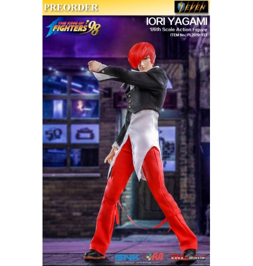 PREORDER: TBLeague 1/6 King of Fighters' 98 - Iori Yagami: Boxset