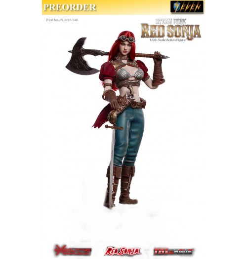 PREORDER: TBLeague 1/6 Steam Punk Red Sonja: Classic Box Set