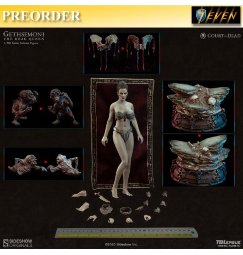 PREORDER: TBLeague x Sideshow 1/6 Gethsemoni The Dead Queen: Boxset