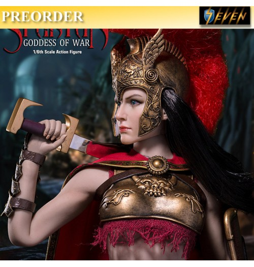 PREORDER: TBLeague 1/6 Spartan Goddess of War Boxset