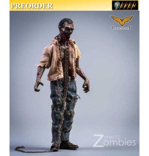 PREORDER: Pocket World 1/12 PW2012A Zombies #A: Set