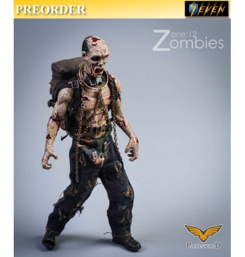 PREORDER: Pocket World 1/12 PW2012B Zombies #B: Set