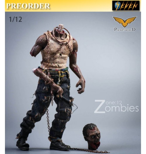 PREORDER: Pocket World 1/12 PW2012C Zombies #C: Set