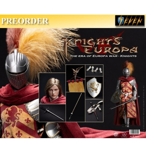 PREORDER: Pop Toys 1/6 ALS004 Armor Legend Series-The Era of Europa War Griffin Knight: Boxset