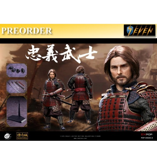 PREORDER: Pop Toys 1/6 EX-026A Devoted Samurai (standard version): Box Set