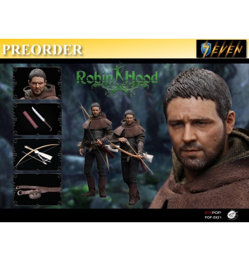 PREORDER: Pop Toys 1/6 Chivalrous Robin Hood: Boxset
