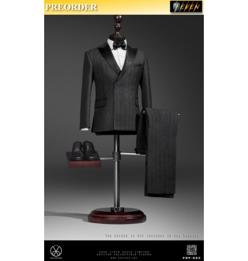 PREORDER: Pop Toys 1/6 X32 Men's striped suit: Set