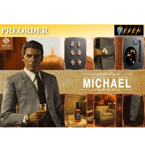 PREORDER: Present Toys 1/6 The second Mob Boss - Michael: Boxset
