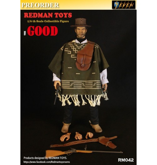 PREORDER: Redman Toys 1/6 The COWBOY: The Good: Boxset