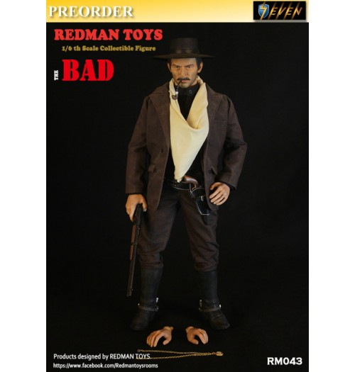 PREORDER: Redman Toys 1/6 The COWBOY: The Bad: Boxset