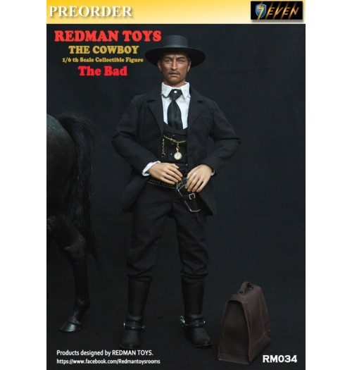 PREORDER: Redman Toys 1/6 The Cowboy The Bad: Box