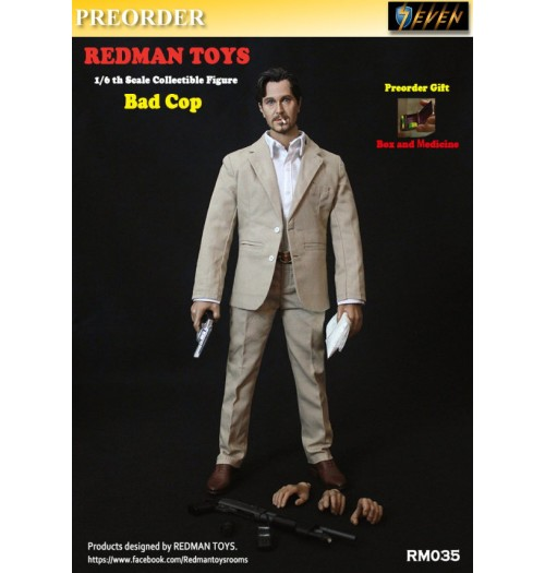 PREORDER: Redman Toys 1/6 The Profession Bad Cop: Box
