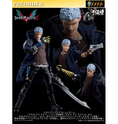 PREORDER: Sentinel 1/12 Devil May Cry 5: Nero: Normal Boxset