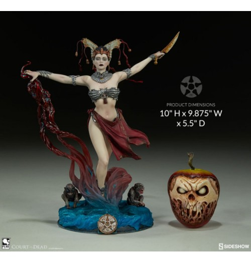 "Sideshow 10"" Court of the Dead - Gethsemoni - Queens Conjuring PVC Statue"
