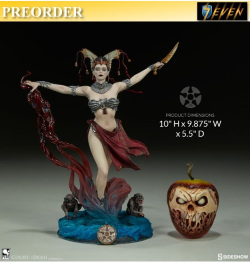 "PREORDER: Sideshow 10"" Court of the Dead - Gethsemoni - Queens Conjuring PVC Statue"