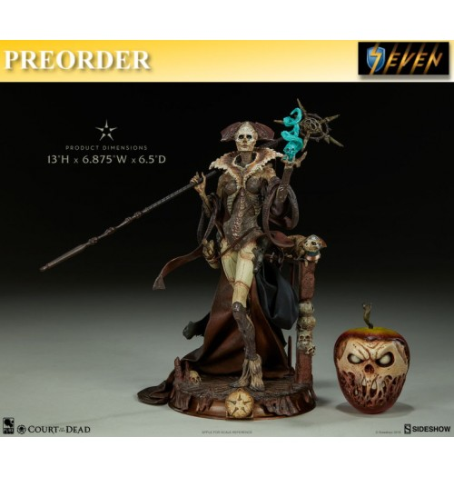 "PREORDER: Sideshow 13"" Court of the Dead - Xiall Osteomancers Vision PVC Statue"