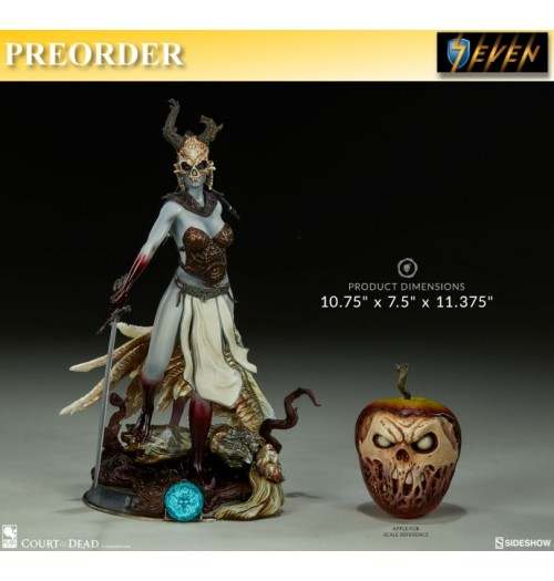 "PREORDER: Sideshow 10.75"" Court of the Dead - Kier Valkyries Revenge PVC Statue"