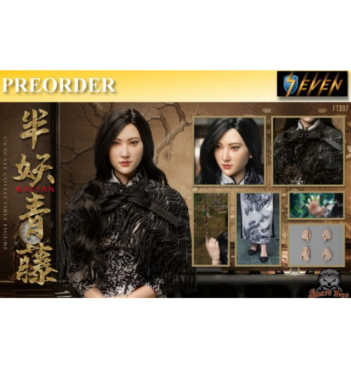 PREORDER: Smart Toys 1/6 FT007 Half Demon Ivy movable doll: Boxset