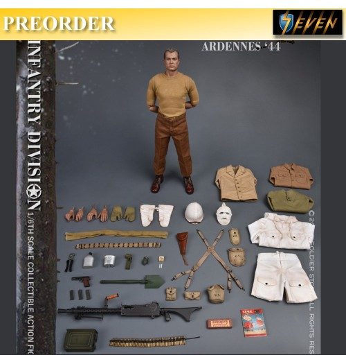 PREORDER: Soldier Story 1/6 U.S. Army 28th Infantry Division Ardennes 1944