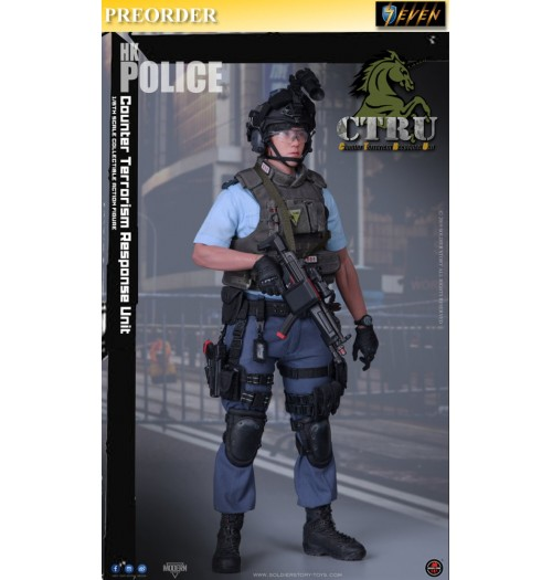 PREORDER: Soldier Story 1/6 Counter Terrorism Response Unit (Assault Team): Boxset