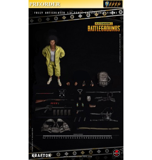 PREORDER: Soldier Story 1/6 SSG-003 Player Unknown's Battlegrounds: Boxset
