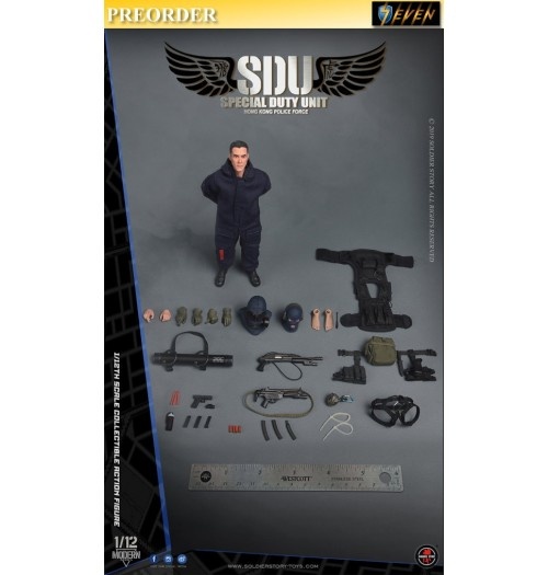 PREORDER: Soldier Story 1/12 HK SDU Assault Team: Boxset