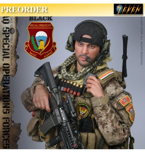 PREORDER: Soldier Story 1/6 Iraq Special Operations Forces - Saw Gunner
