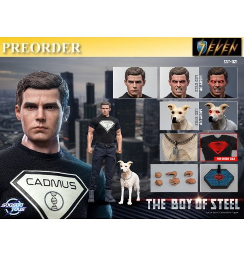 PREORDER: Soosootoys 1/6 SST021 The boy of steel LED: Boxset