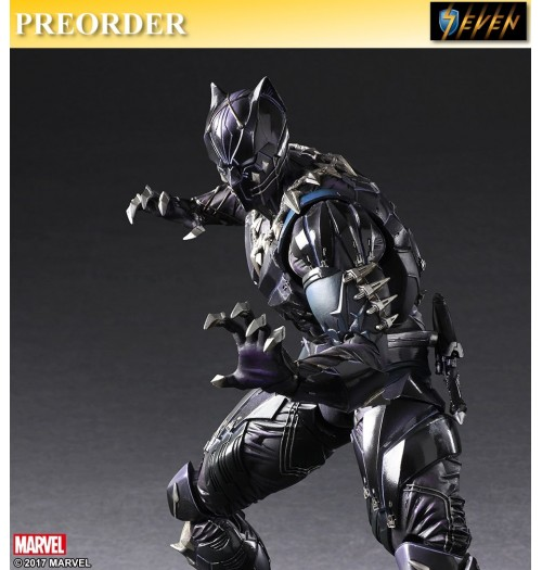 PREORDER: Square Enix Play Arts Justice League-Black Panther