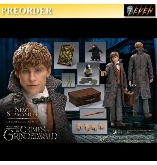 PREORDER: Star Ace 1/8 The Crimes of Grindelwald - Newt Scamander