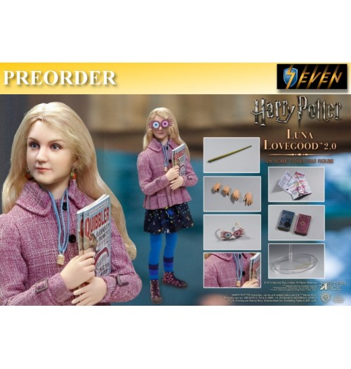 PREORDER: Star Ace 1/6 Harry Potter Luna Lovegood 2.0 (Casual Wear): Boxset