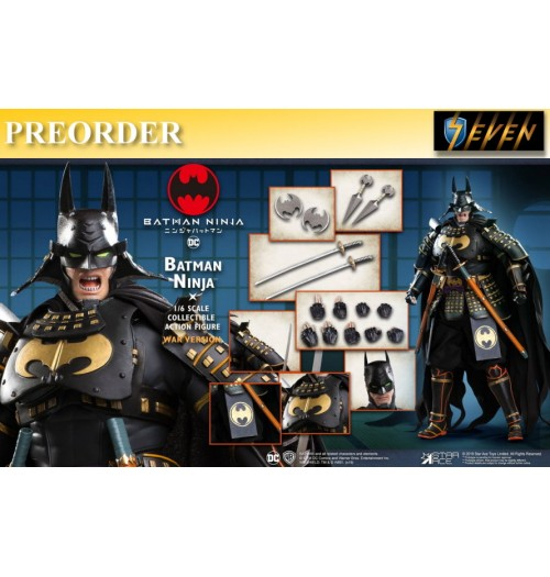 PREORDER: Star Ace 1/6 SA0065 Batman Ninja NX (War Version): Box set