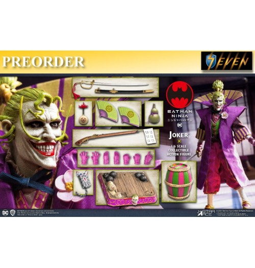 PREORDER: Star Ace 1/6 Batman Ninja - Lord Joker (Deluxe Version): Boxset