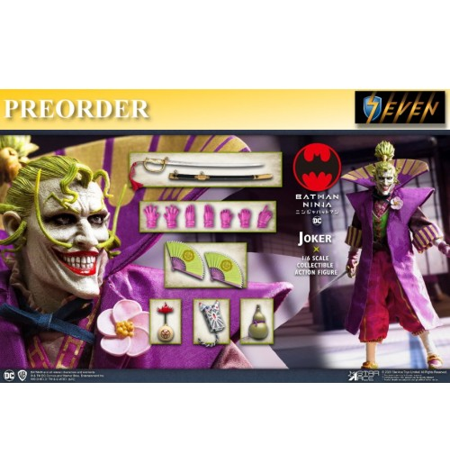 PREORDER: Star Ace 1/6 Batman Ninja - Lord Joker (Normal Version): Boxset