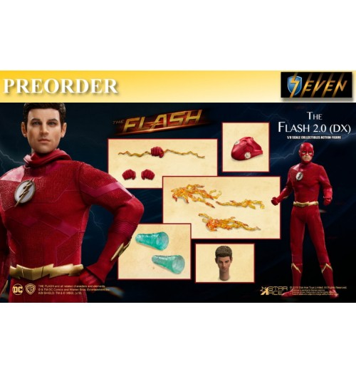 PREORDER: Star Ace 1/8 The Flash 2.0 (Deluxe Version): Boxset