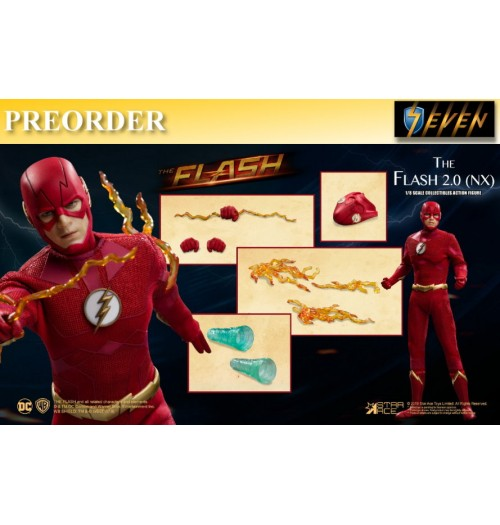 PREORDER: Star Ace 1/8 The Flash 2.0 (Normal Version): Boxset