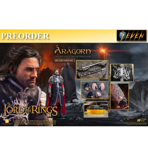 PREORDER: Star Ace 1/8 SA8017A LOTR - Aragon 2.0 (Deluxe version): Boxset