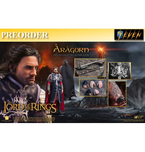 PREORDER: Star Ace 1/8 SA8017B LOTR - Aragon 2.0 (Normal version): Boxset
