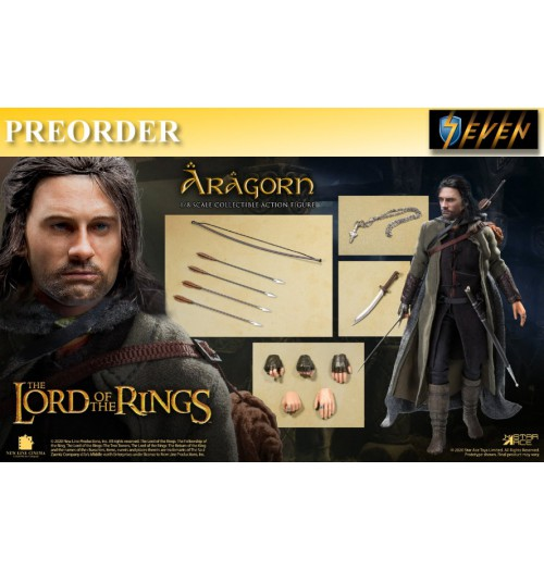 PREORDER: Star Ace 1/8 SA8008C LOTR - Aragon 2.0 (Normal version): Boxset